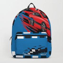 Race Car Backpack