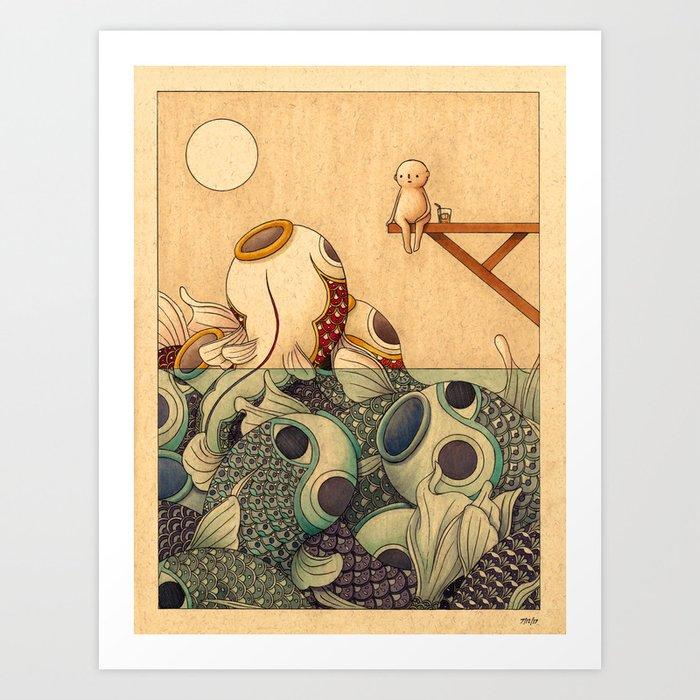 Summer by the Sea Kunstdrucke