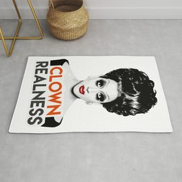 """Clown Realness"" Bianca Del Rio, RuPaul's Drag Race Queen Rug"