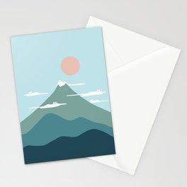 Cat Landscape 72B Stationery Cards