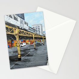 On a Chicago Street Corner Stationery Cards