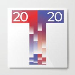MAGA Presidential Election 2020 Trump USA T Metal Print