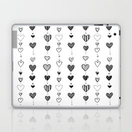 Heart garlans Laptop & iPad Skin