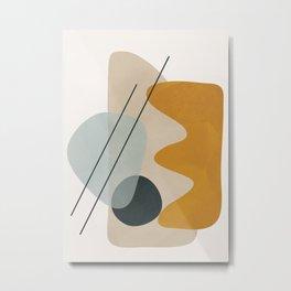 Abstract Shapes No.27 Metal Print