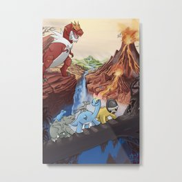 Movie Poster - The Land Before Time Metal Print