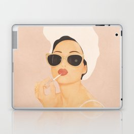 Morning Routine Laptop & iPad Skin