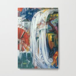 Franz Marc - The Bewitched Mill Metal Print