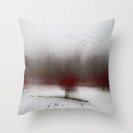 Heart of Winter I Throw Pillow