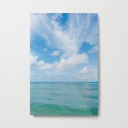 Florida Ocean View V Metal Print
