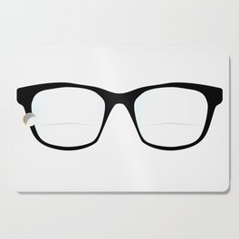 Pair Of Optical Glasses Cutting Board