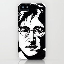 A Working Class Hero Is Something To Be iPhone Case