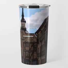 Alcalá streets Travel Mug