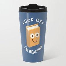 All Booked Up Travel Mug