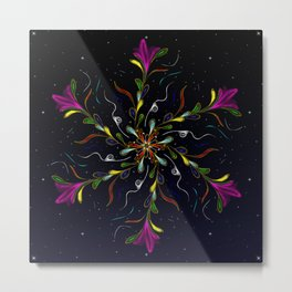 Starry JewelVine Metal Print