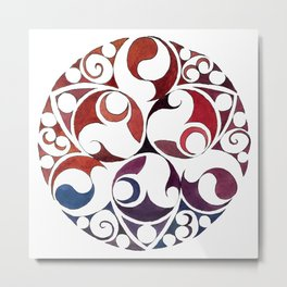 Celtic Circle VIII Metal Print