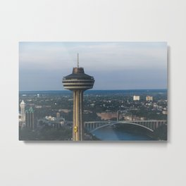 Bullet to the Top Metal Print