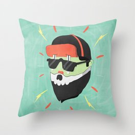 nothing to say Throw Pillow