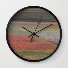 Castelluccio di Norcia Wall Clock