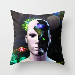 Secret Messages Reloaded Sci-Fi Fantasy Throw Pillow