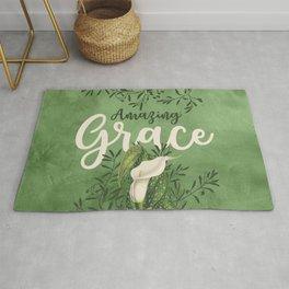 Amazing Grace (green) Rug