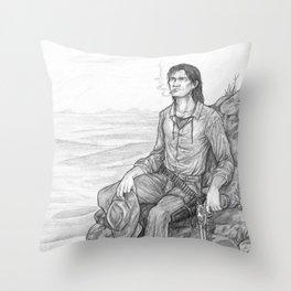 The Gunslinger Throw Pillow