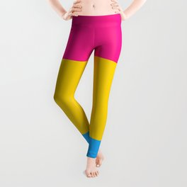 Symbol of Pansexuality or Omnisexuality Leggings