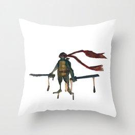 Eine Schildkröte Throw Pillow