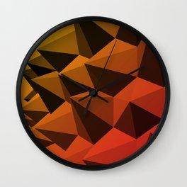 Spiky Brutalism - Swiss Army Pavilion Wall Clock
