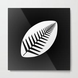 NZ Rugby Metal Print
