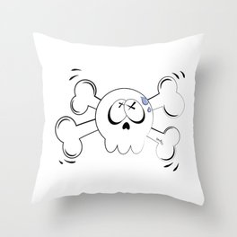 Skully© Throw Pillow