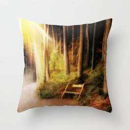 A Place Where Only You Know  Throw Pillow