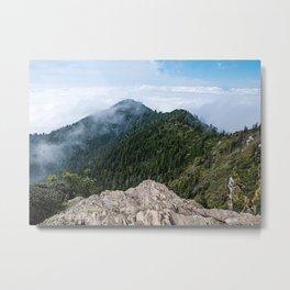 Mt. Leconte Peak Metal Print