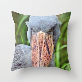 Whalehead Stork Throw Pillow