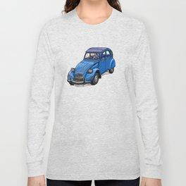 Blue 2CV Long Sleeve T-shirt