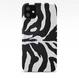 Zebra print iPhone Case