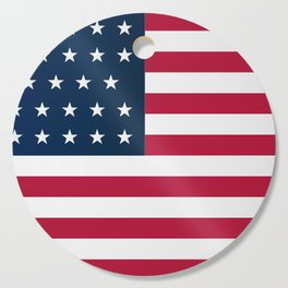 Union Side American Civil War Flag Cutting Board