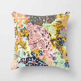 Subconscious Scaries  Throw Pillow