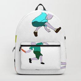 Frisbee Discs Disc Player Motif Backpack