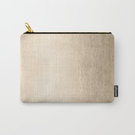 White Gold Sands Carry-All Pouch