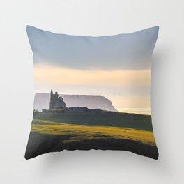 Classiebawn Castle in Couty Sligo - Ireland Prints (RR 264) Throw Pillow