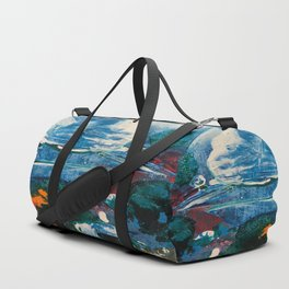 Mini World Environmental Blues 2 Duffle Bag