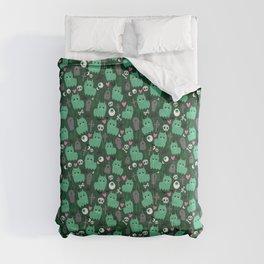Creepy Zombie Llama Comforters