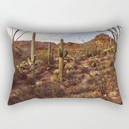Saguaro Garden Rectangular Pillow