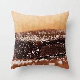 Xmas Chocolate Throw Pillow
