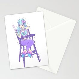 Man Eater Stationery Cards