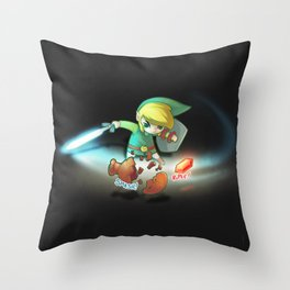 Rupee! Throw Pillow