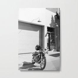 Motorcycle ADV Metal Print