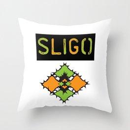 County Sligo Ireland Throw Pillow