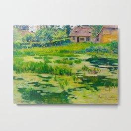 Václav Radimský (1867-1946) Summer Mood Impressionist Landscape Oil Painting Metal Print