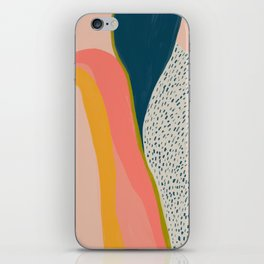 Colorful Abstract Textures iPhone Skin